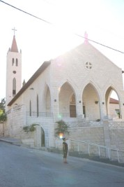 Webdeh Area Amman Jordan Urban Old church