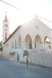 Webdeh Area Amman Jordan Urban Old church
