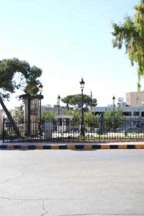 Webdeh Area Amman Jordan Urban Parid circle
