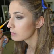 Aurora Felici Model from Italy during Mercedes-Benz Fashion Week Amman