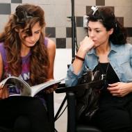 Ginevra Guidotti, Aurora Felici Model from Italy during Mercedes-Benz Fashion Week Amman