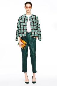 Green pants Spring Summer 2015