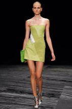 Lime dress Spring Summer 2015