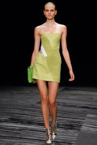 Lime dress Spring Summer 2015
