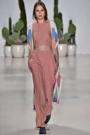 Pattern Jacket New York Fashion Week Spring Summer 2015