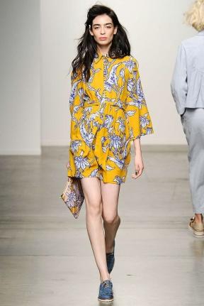 Pattern Dress New York Fashion Week Spring Summer 2015