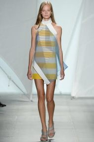 Yellow stripes Spring Summer 2015