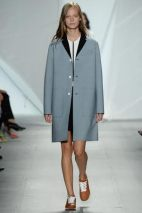 grey coat classic chic spring summer 2015