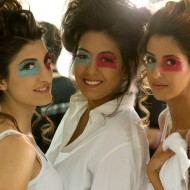 Lugein Al Fayez, Lujain AlJbour, Leen Bakerijian MBFW Amman Modelicious