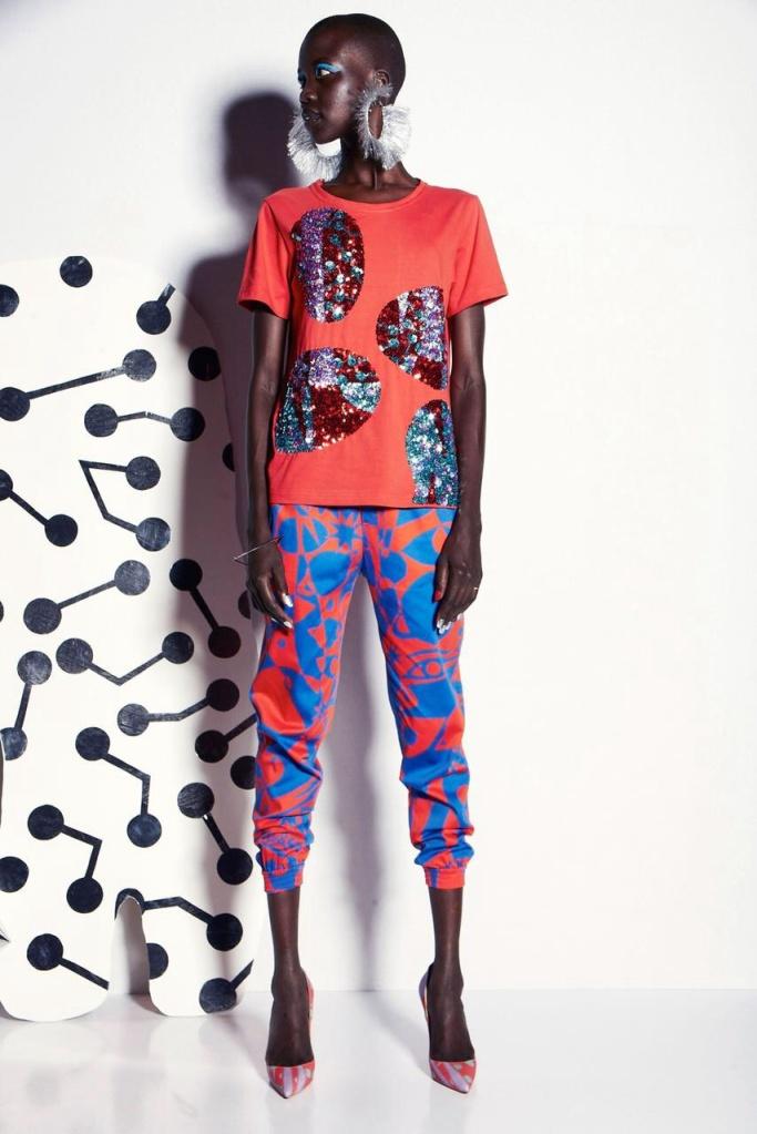 Print Pants spring summer 2015