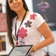 Jiyan Alami J walking Jordanian Palestinian designer