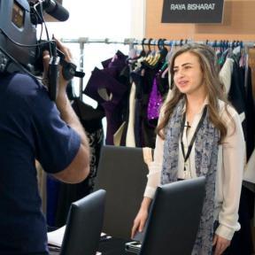 Raya Bisharat Jordanian Fashion Designer