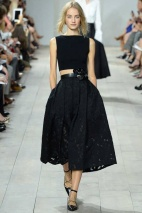 black outfit classic chic spring summer 2015