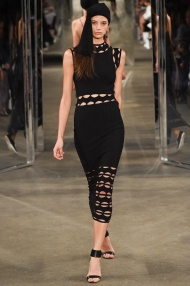 Black dress Spring Summer 2015