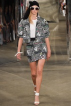 Pattern Jacket New York Fashion Week Spring Summer 2015