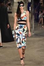 Pattern skirt New York Fashion Week Spring Summer 2015