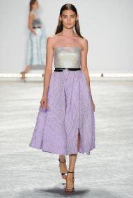 purple skirt Spring Summer 2015