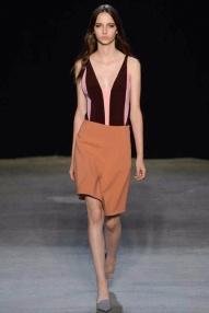 Orange skirt Spring Summer 2015