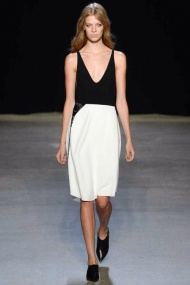 black and white classic chic spring summer 2015