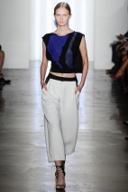 Pattern top New York Fashion Week Spring Summer 2015