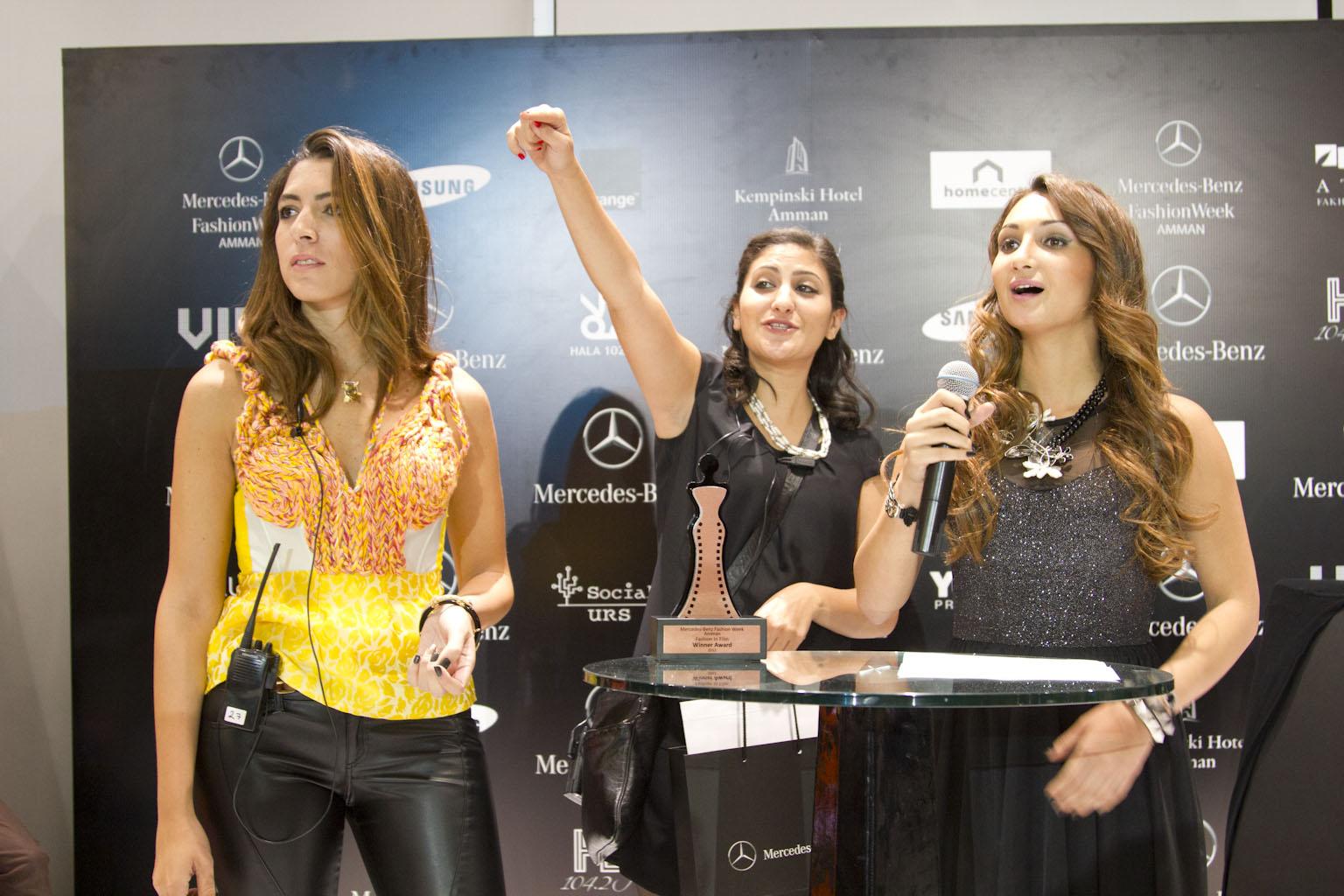Organizors staff mercedes benz fashion week amman jordan for Mercedes benz of chandler staff