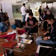 Mercedes-Benz Fashion Week Team work Sarah Hirzallah