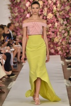 Yellow skirt Spring Summer 2015