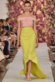 Yellow skirt Spring Summer 2015