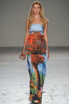 Long Dress spring summer 2015