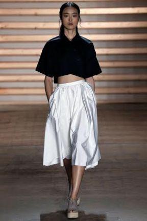 white skirt Spring Summer 2015