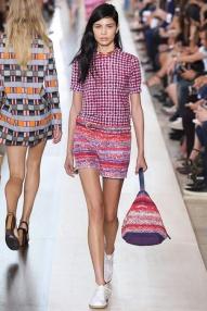 Pattern top New York Fashion Week Spring Summer 2015