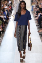Pattern skirt New York Fashion Week Spring Summer 2015