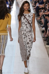 Pattern Dress New York Fashion Week Spring Summer 2015