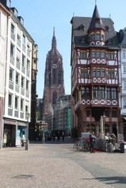 Romerberg Roemer Frankfurt Architecture