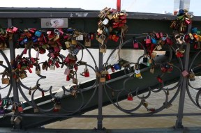 Frankfurt Love Bridge Padlock Bridge