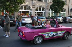 Convertible vintage car