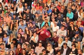 energy of people gathering