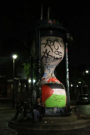 Palestinian flag in Berlin Kreuzberg