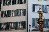 Baroque city Medieval town looks like a mosque windows