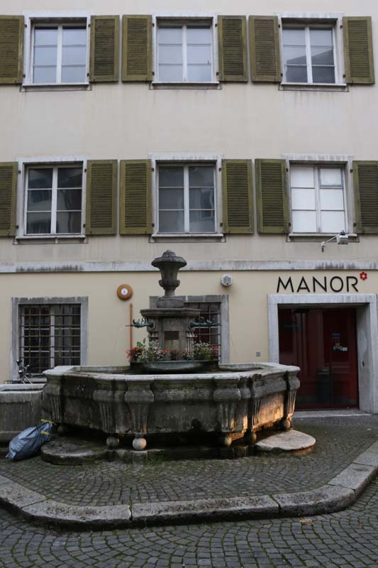 Baroque city Medieval town looks like a mosque fountain