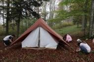 Handmade tent Tannenheim Oberbalmberg, Solothurn (Switzerland)