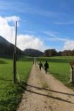 walking clear skies Tannenheim Oberbalmberg, Solothurn (Switzerland)