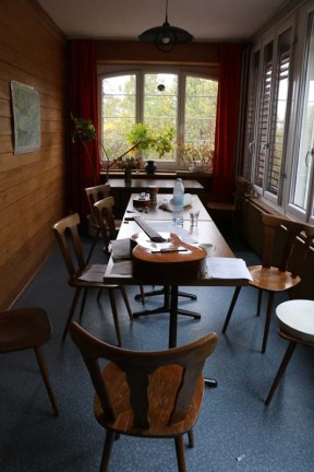 Work space at Tannenheim Oberbalmberg, Solothurn (Switzerland)