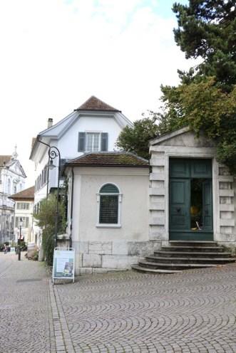 Baroque city Medieval town door
