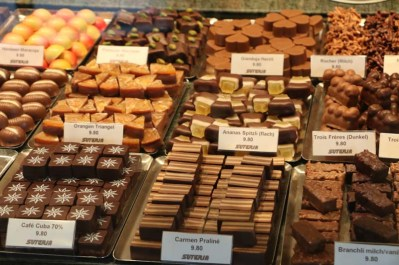 Baroque city Medieval town chocolates