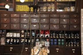 A beautiful gothic baroque italian shop