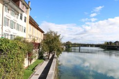 Baroque city Medieval town by the river