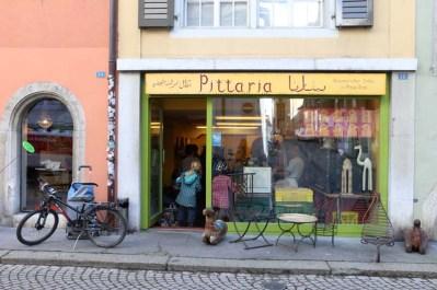 Pittara a Palestinian cuisine food in switzerland