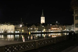 24 hours in Zurich Switzerland by the river