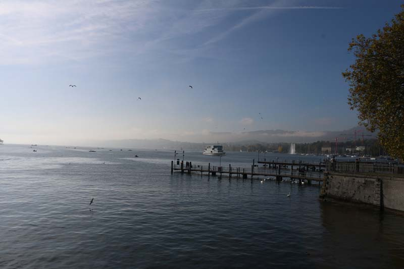 24 hours in Zurich Switzerland by the lake
